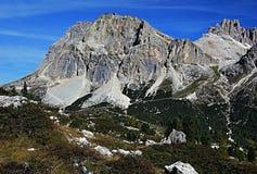 Laguazoi Piccolo and Laguazoi Grande peak Royalty Free Stock Image