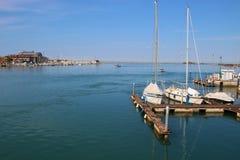 Lagun av Grado, Italien Royaltyfria Bilder