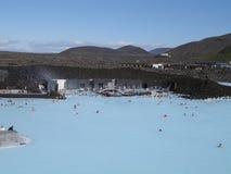 lagun för 3 blue Arkivbilder