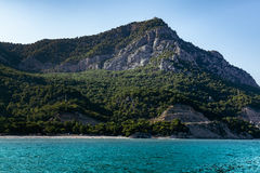 Lagun gór błękita Seascape Obrazy Royalty Free