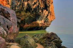 lagun nära phuket till Arkivbild