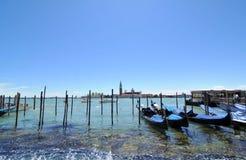 lagun venice Arkivbild