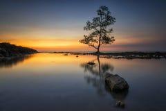 Laguna παραλία, Anyer Στοκ φωτογραφία με δικαίωμα ελεύθερης χρήσης
