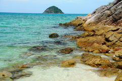 laguna παραλιών βράχος Στοκ Εικόνα