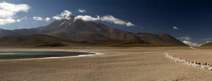 Laguna Altiplanica Arkivbilder