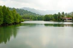 Laguna asiatica Fotografie Stock Libere da Diritti