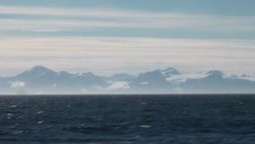 Laguna av det arktiska havet arkivfilmer