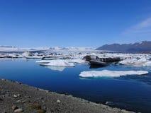 Laguna azul foto de archivo