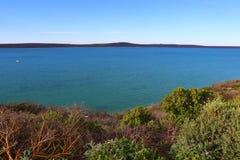 Laguna azul Imagenes de archivo