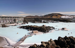 Laguna azul Fotos de archivo