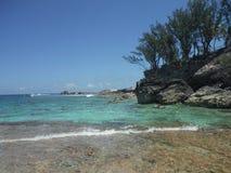 Laguna azul foto de archivo libre de regalías