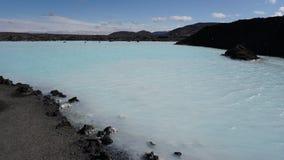 Laguna azul Fotos de archivo libres de regalías