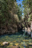 Laguna azul hermosa de la selva, Khao Sok National Park. Tailandia, Foto de archivo