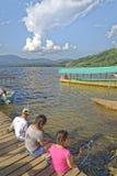 Laguna azul, tarapoto, peru Stock Photos