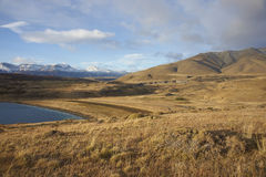 Laguna Azul, Torres del Paine National Park, Chili Stock Afbeelding