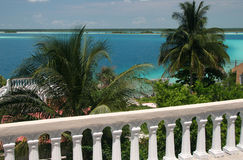Laguna Bacalar Royalty Free Stock Images