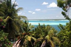 Laguna Bacalar Stock Images