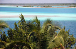 Laguna Bacalar Royalty Free Stock Photography