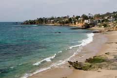 Laguna beach obrazy royalty free