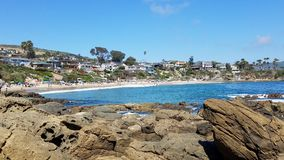 Laguna Beach royalty free stock photos