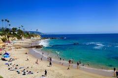 Laguna Beach, Californië, Verenigde Staten stock afbeelding