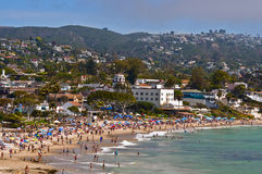 Laguna Beach, California. Having some of the most beautiful beaches in Southern California, Laguna Beach is a seaside resort and artists' community known for its Stock Photo