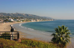 Laguna Beach California looking South Royalty Free Stock Photos