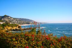 Laguna Beach Coast royalty free stock photography