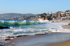 Laguna Beach Coastline royalty free stock image