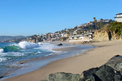 Laguna Beach Coastline Stock Photo