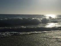 Laguna Beach, de golven van Californië Royalty-vrije Stock Afbeeldingen