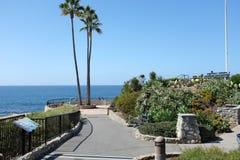 Laguna Beach del parque de Heisler en el punto de la reconstrucción Fotos de archivo