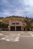 Laguna Beach fire station one next to town hall Stock Photos