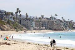 Laguna Beach Kalifornien fotografering för bildbyråer