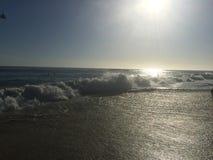 Laguna Beach, onde di California Immagini Stock Libere da Diritti