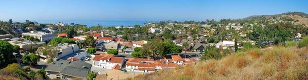 Laguna Beach panorama Obrazy Stock