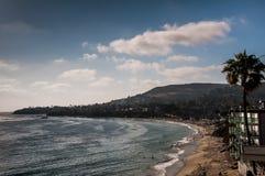 Laguna Beach pendant le jour Photographie stock
