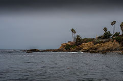 Laguna Beach Peninsula Royalty Free Stock Photos