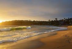 Laguna beach słońca Zdjęcia Stock
