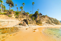 Laguna Beach shoreline Royalty Free Stock Image