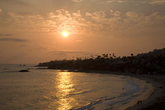 Laguna Beach Sunset 2 Royalty Free Stock Image