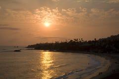 Laguna Beach Sunset 2 Royalty Free Stock Image