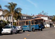 Laguna Beach trolley Royalty Free Stock Image
