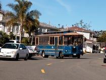 Laguna Beach trolley Stock Image