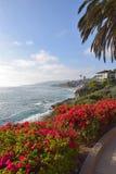 Laguna Beachkustlijn & Tuinen Royalty-vrije Stock Foto's