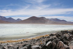 Laguna bianca fotografia stock libera da diritti