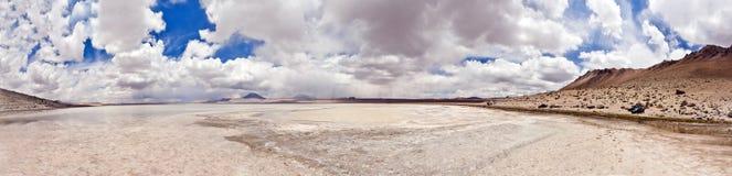 Laguna Blanca, Bolivië Royalty-vrije Stock Fotografie
