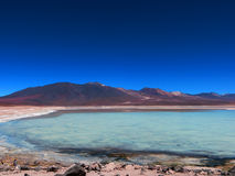 Laguna BLANCA EN Βολιβία Στοκ φωτογραφία με δικαίωμα ελεύθερης χρήσης