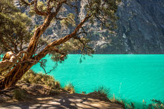 Laguna blu Immagini Stock