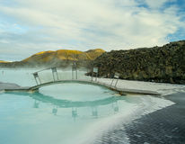 Laguna blu Islanda Immagine Stock